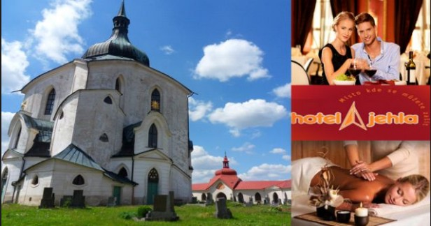 Barevná podzimní Vysočina s dostatkem volných termínů - Hotel Jehla*** 3 dny - 2 noci s chutnou polopenzí pro 2 a návštěvou bazénu za fantastickou cenu 2348 Kč až do Vánoc.