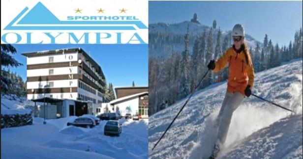 Šumava Zadov oblíbený Sport hotel Olympia*** 4 dny s polopenzí až do konce dubna za skvělou cenu 3999 Kč pro 2 vč. bezplatného fitness.