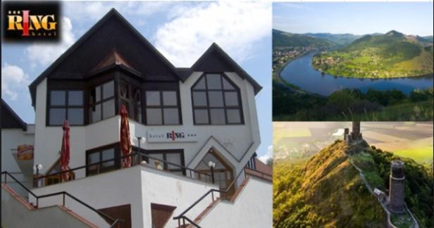 Letní České středohoří až do konce srpna 4 dny v pohodlném hotelu RING*** s polopenzí, saunou a fitness jen za 2199 Kč.