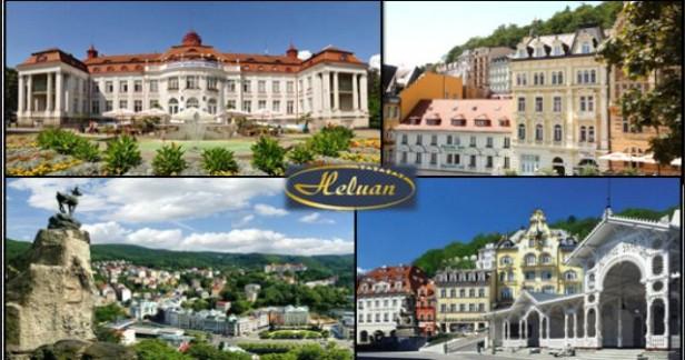 Krásné letní Karlovy Vary  Hotel Heluan & Ester**** přímo na kolonádě - 3 dny pro 2 s polopenzí, masážemi a bazénem nebo Muzeem Becherovky v našich nejkrásnějších lázních až do Vánoc 2017.