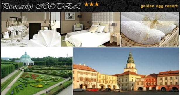 KROMĚŘÍŽSKO o prázdninách na 4 dny - 3 noci s polopenzí a celodenními vstupenkami na koupaliště v Pivovarském hotelu*** za nepřekonatelnou cenu 2899 Kč pro 2. Mnohokrát prověřený hotel.