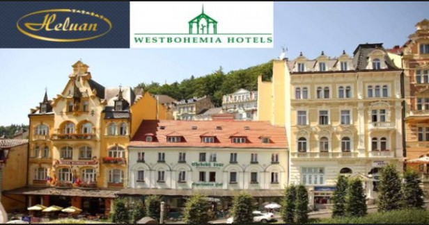 Karlovy Vary letní Hotel Heluan & Ester**** přímo na kolonádě - 3 dny pro 2 s polopenzí, masážemi a bazénem nebo Muzeem Becherovky v našich nejkrásnějších lázních.