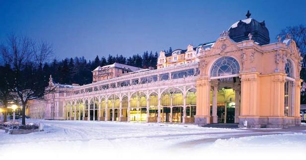 Mariánské Lázně zima i jaro v rodinném hotelu Pelikán na 4 dny s velmi chutnou polopenzí a posezením u kávy a palačinky za skvělou cenu 3290 Kč platnost až do jara 2018.